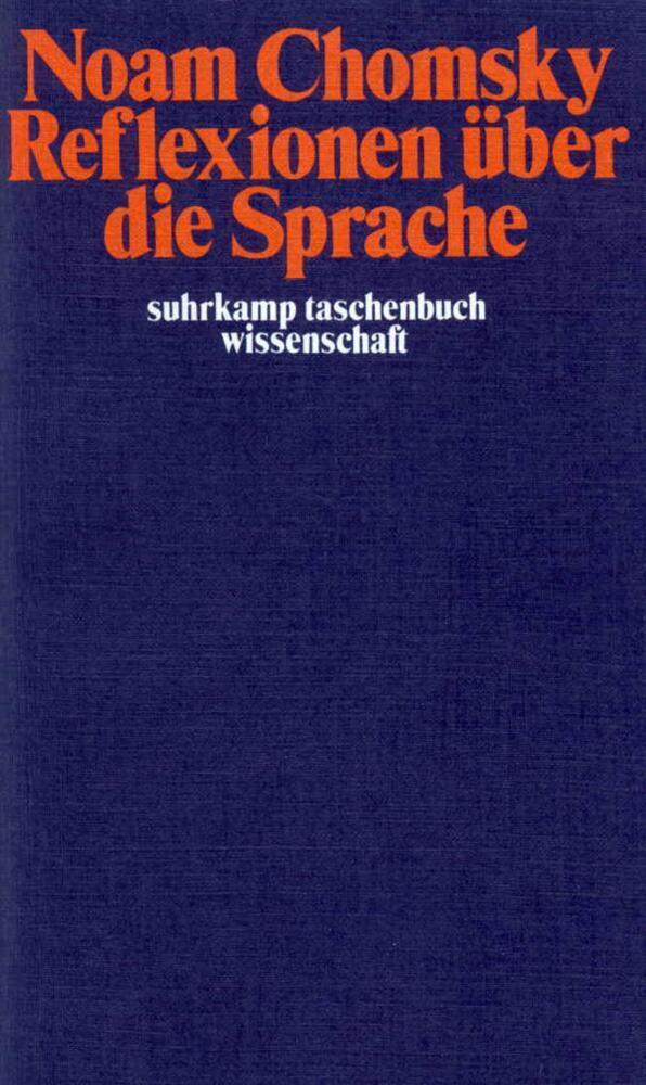 Reflexionen über die Sprache als Taschenbuch