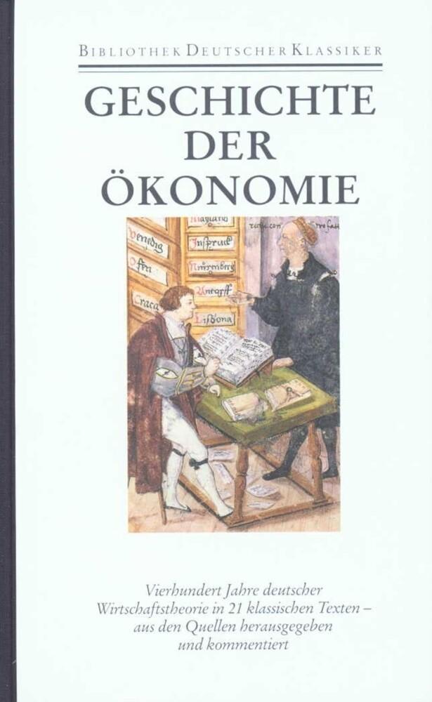 Bibliothek der Geschichte und Politik Band 21: Geschichte der Ökonomie als Buch