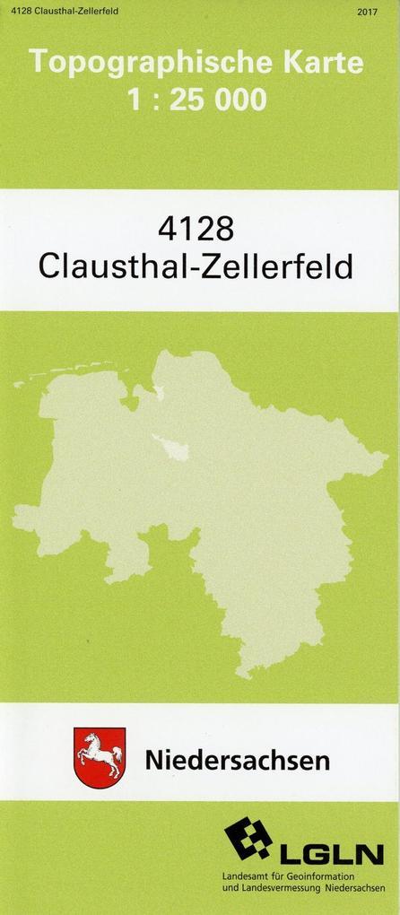 Clausthal-Zellerfeld 1 : 25 000 als Buch