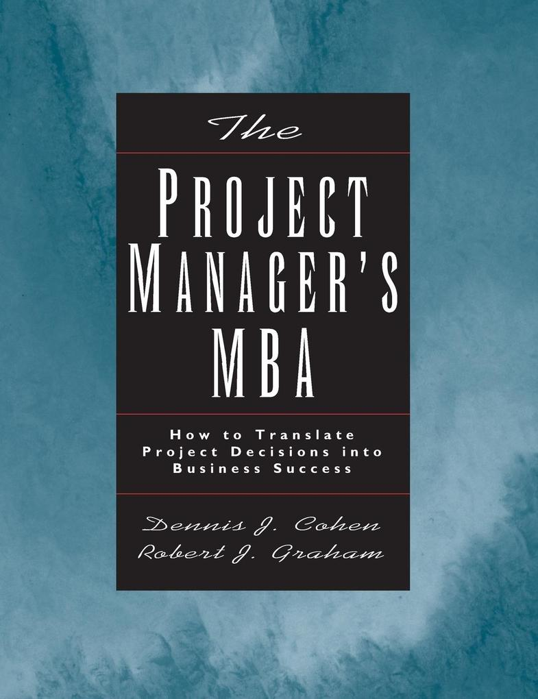 Project Manager MBA als Buch