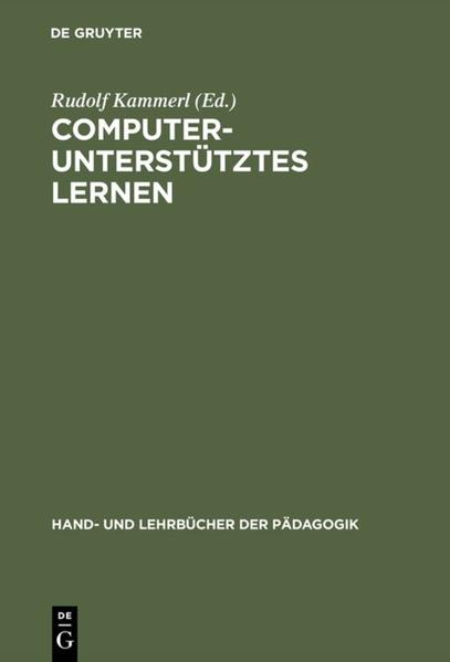 Computergestütztes Lernen als Buch (gebunden)