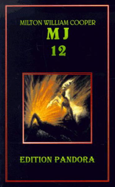 MJ 12. Die geheime Regierung als Buch