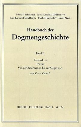 Handbuch der Dogmengeschichte II/1c als Buch