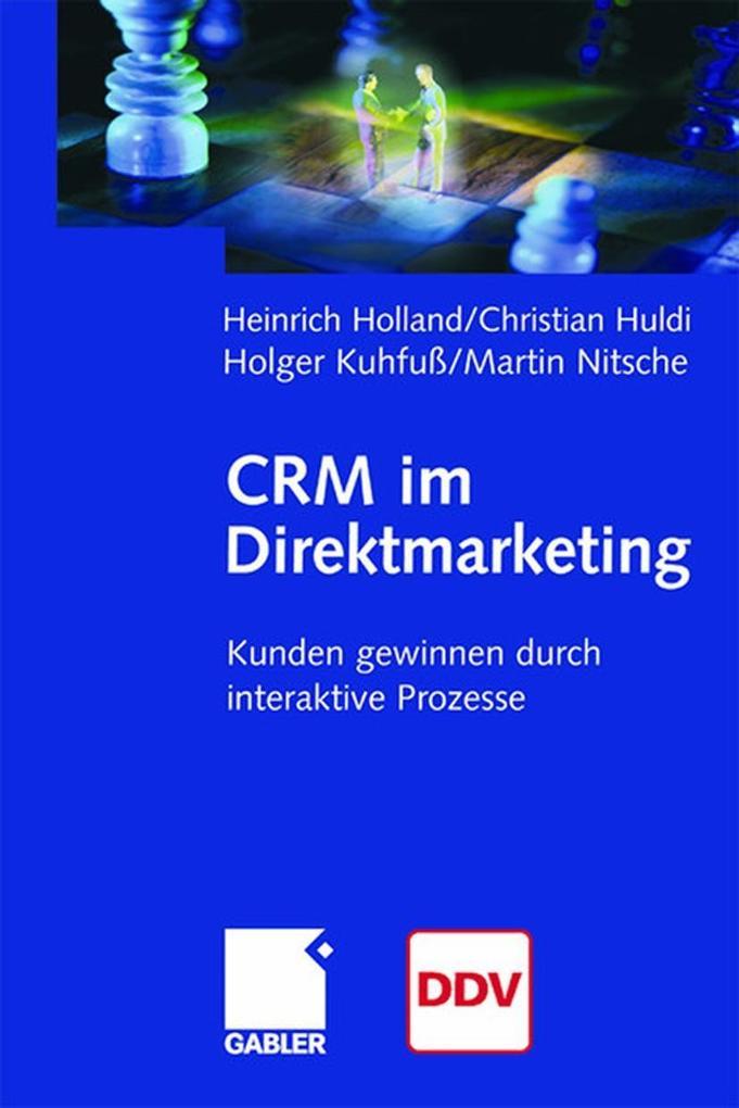 CRM im Direktmarketing als Buch