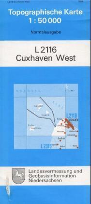 Cuxhaven West 1 : 50 000 als Buch