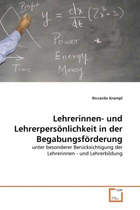 Lehrerinnen- und Lehrerpersönlichkeit in der Be...
