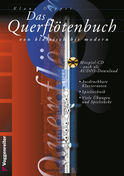 Das Querflötenbuch von klassisch bis modern. Mit CD als Buch