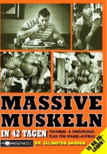 Massive Muskeln in 42 Tagen als Buch