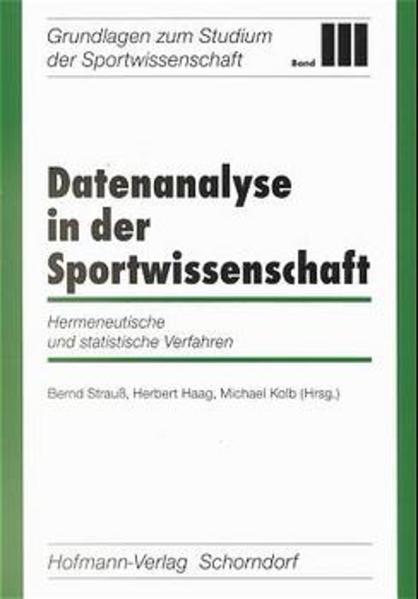 Datenanalyse in der Sportwissenschaft als Buch