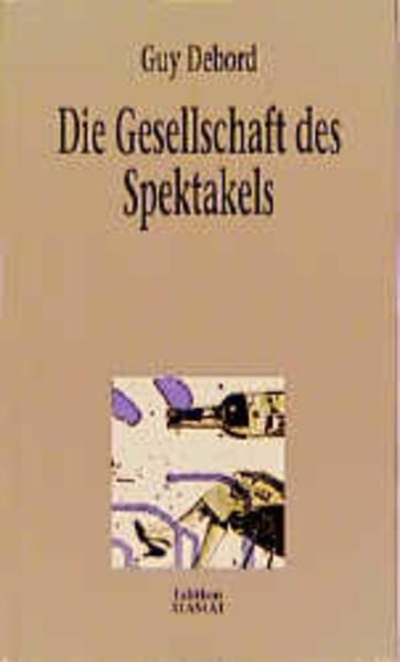 Die Gesellschaft des Spektakels als Buch