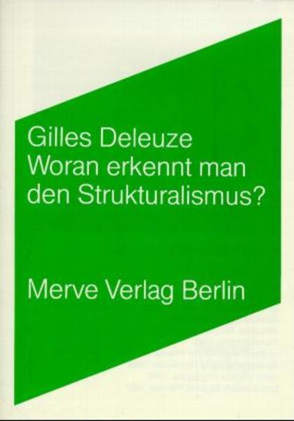 Woran erkennt man den Strukturalismus? als Buch