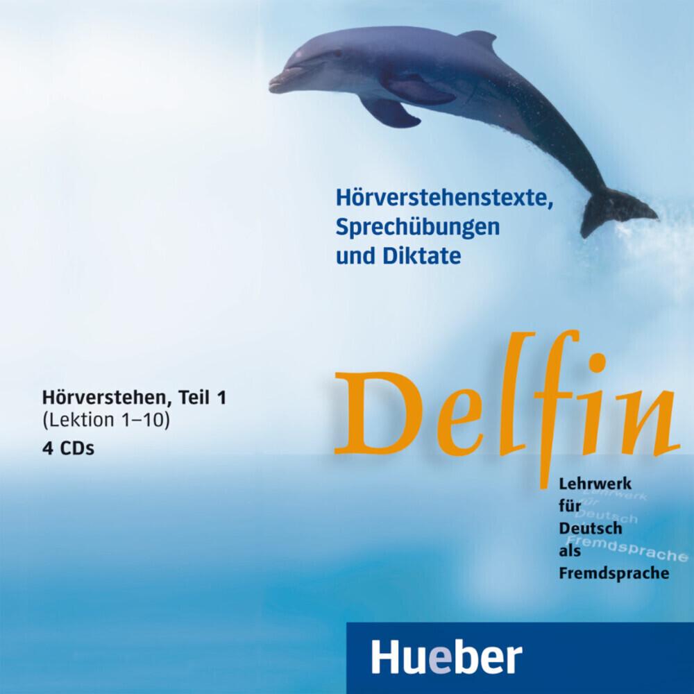 Delfin. Hörverstehen 1. 4 CDs als Hörbuch
