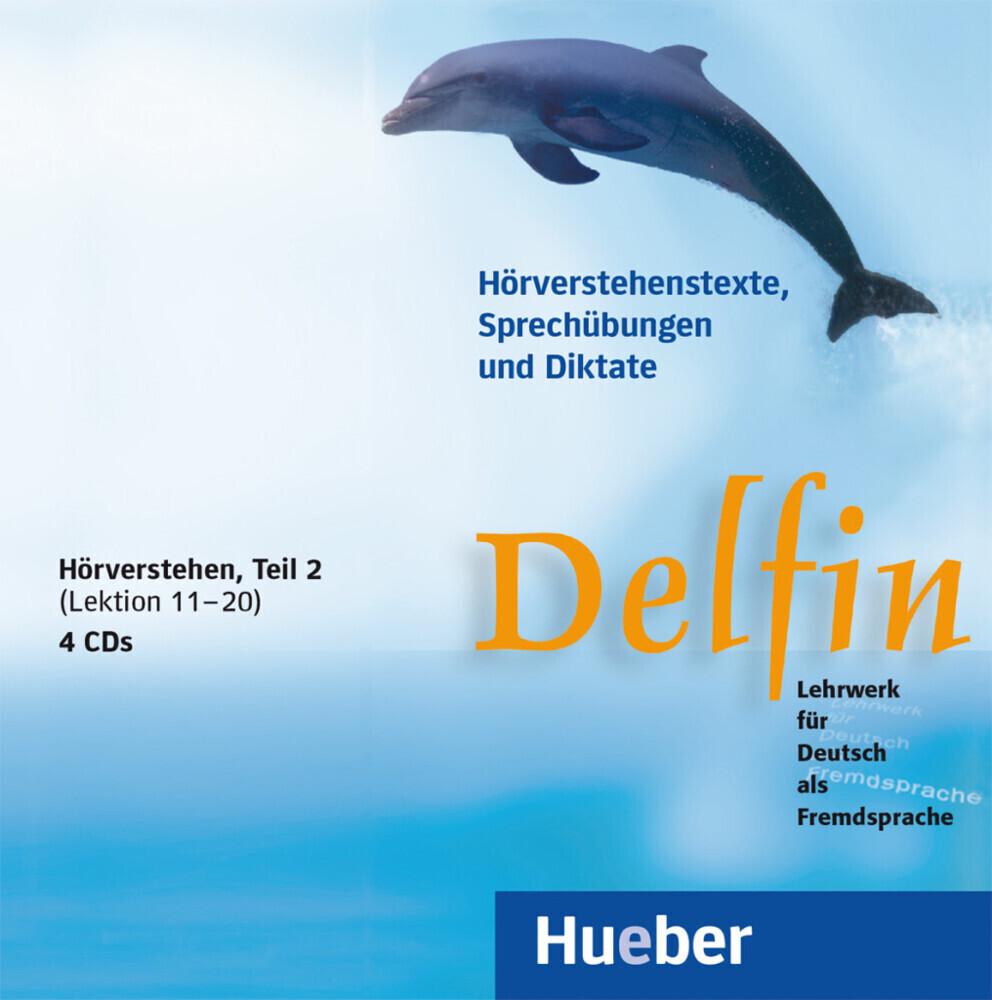 Delfin. Hörverstehen 2. 4 CDs als CD