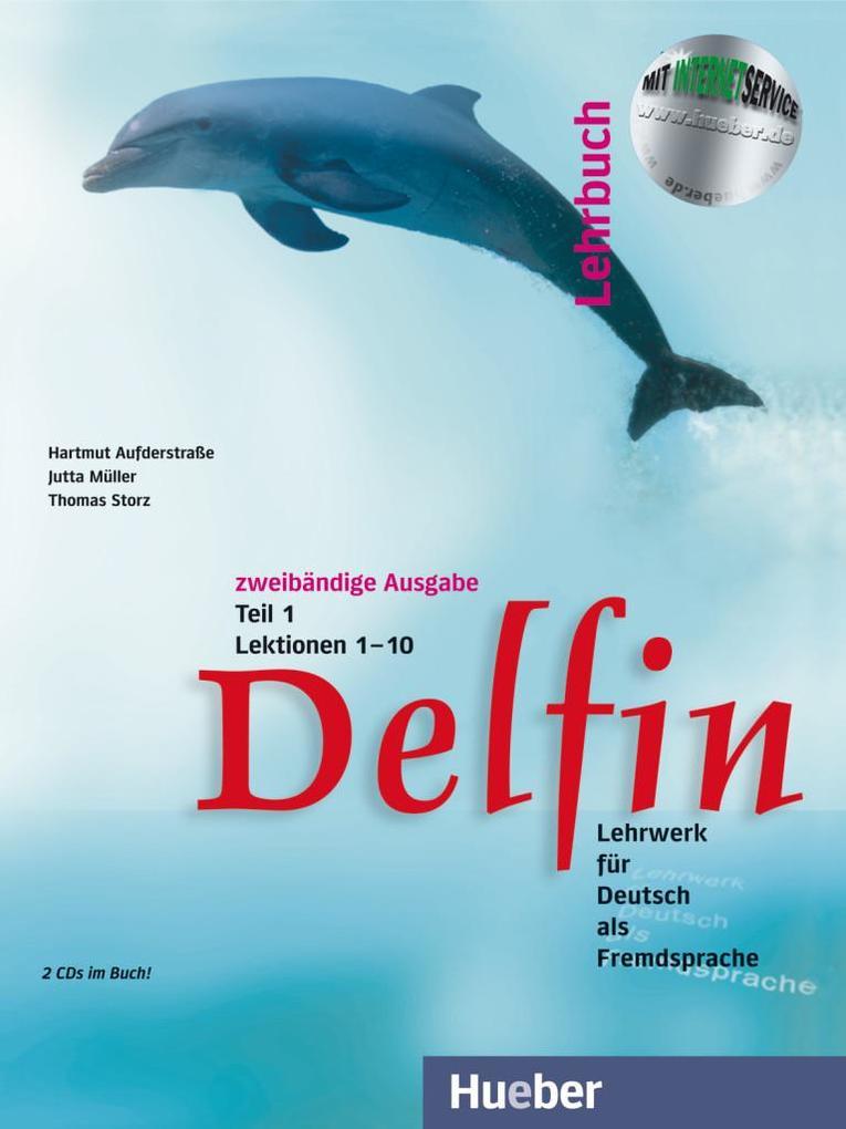 Delfin. Lehrbuch Teil 1. Mit 2 CDs als Buch