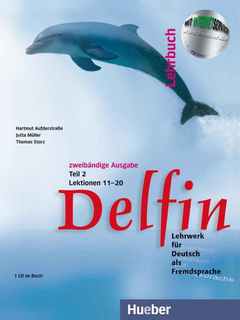 Delfin. Lehrbuch Teil 2. Mit CDs als Buch