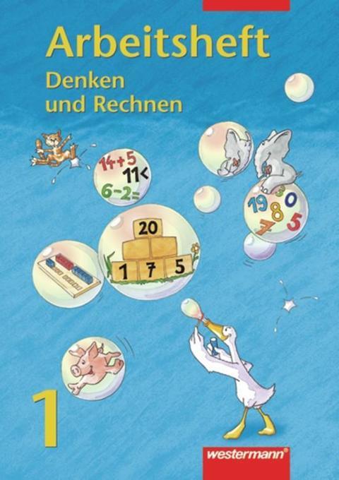 Denken und Rechnen 1. Euro. Arbeitsheft als Buch
