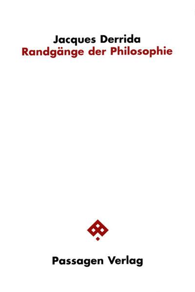 Randgänge der Philosophie als Buch