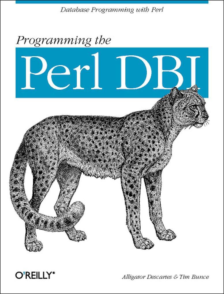 Programming the Perl DBI als Buch