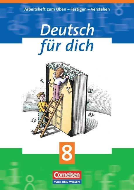 Deutsch für Dich 8. Arbeitsheft als Buch