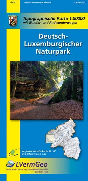 Deutsch-Luxemburgischer-Naturpark 1 : 50 000 als Buch