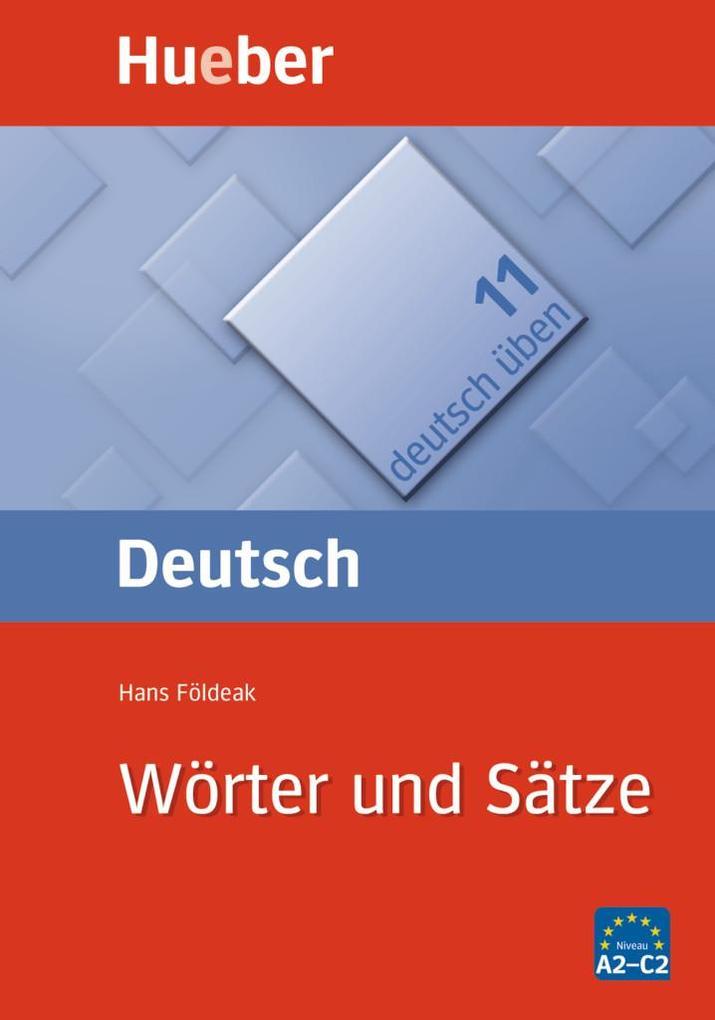Deutsch üben 11. Wörter und Sätze als Buch