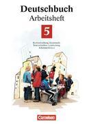 Deutschbuch 5. Neue Rechtschreibung. Arbeitsheft. Erweiterte Ausgabe
