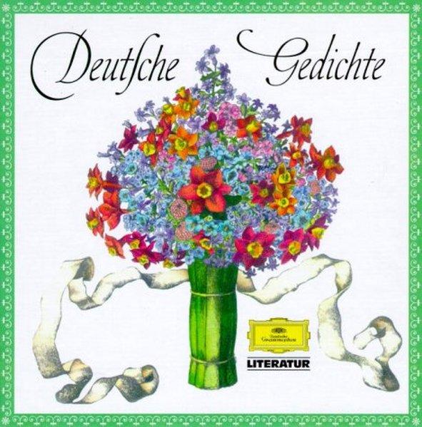 Deutsche Gedichte. 5 CDs als Hörbuch CD von Ern...