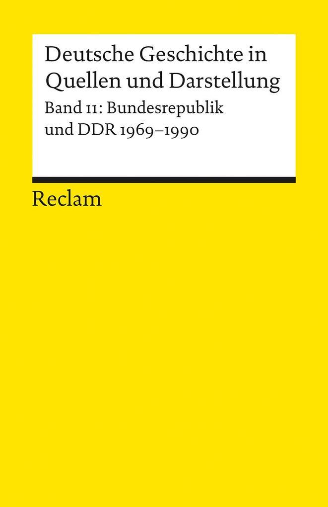 Deutsche Geschichte 11 in Quellen und Darstellung als Taschenbuch