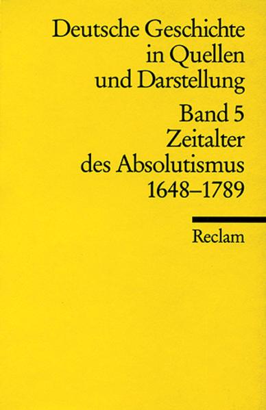 Deutsche Geschichte 5 in Quellen und Darstellungen als Taschenbuch