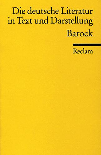 Die deutsche Literatur 4 / Barock als Taschenbuch
