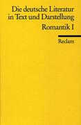 Die deutsche Literatur 8 / Romantik 1
