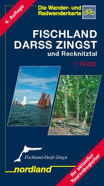 Deutsche Ostseeküste 05. Fischland, Darß, Zingst 1 : 75 000 und Recknitztal als Blätter und Karten