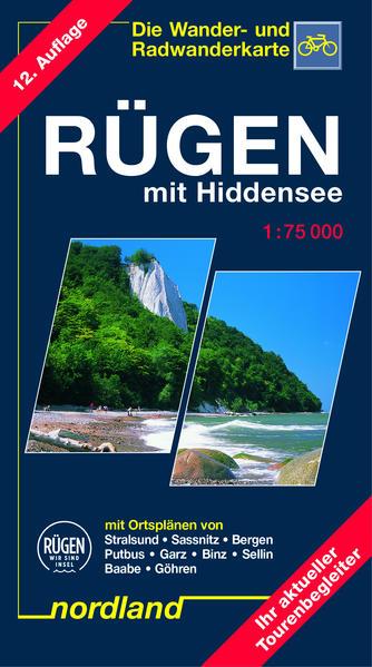 Deutsche Ostseeküste 06. Rügen mit Hiddensee 1 : 75 000 als Blätter und Karten