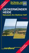 Deutsche Ostseeküste 08. Ueckermünder Heide / Oderhaff 1 : 75 000