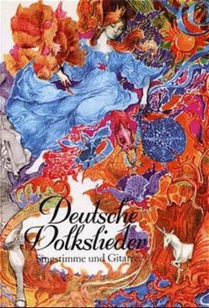 Deutsche Volkslieder als Buch (gebunden)