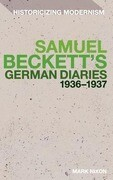 Samuel Beckett's German Diaries 1936-1937