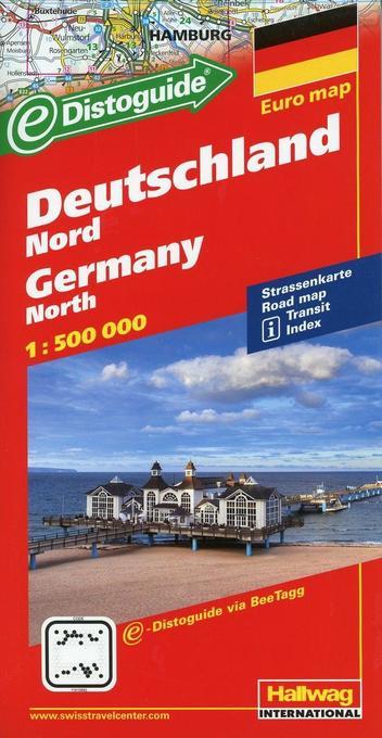 Deutschland Nord 1 : 500 000 als Buch