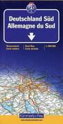 KuF Deutschland Straßenkarte Süd 1 : 500 000