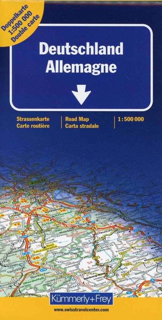 KuF Deutschland Straßenkarte 1 : 500 000 als Buch