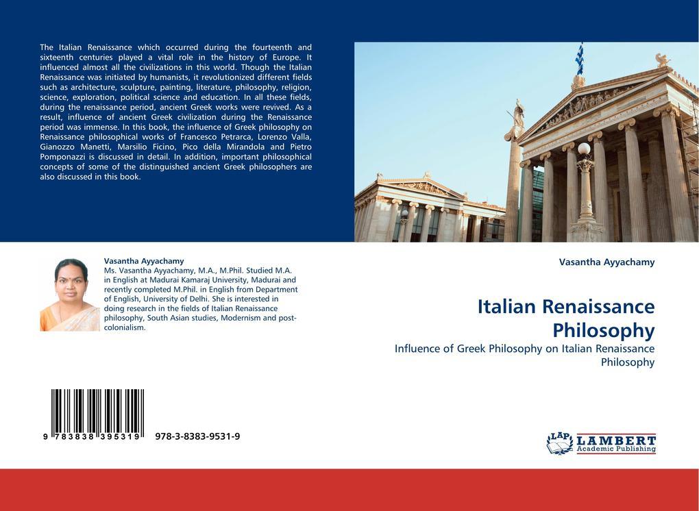 Italian Renaissance Philosophy als Buch von Vas...