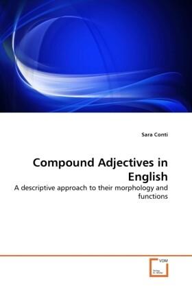 Compound Adjectives in English als Buch von Sar...