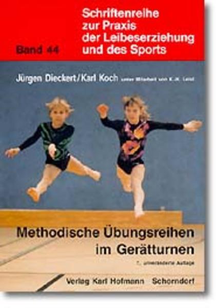 Methodische Übungsreihen im Gerätturnen als Buch