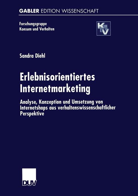 Erlebnisorientiertes Internetmarketing als Buch (kartoniert)