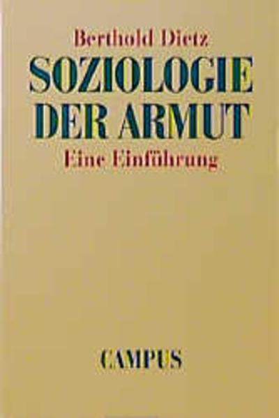 Soziologie der Armut als Buch