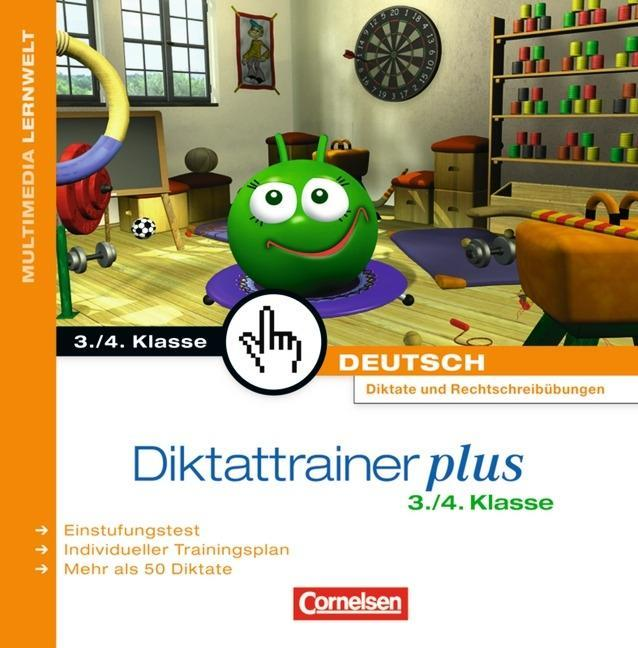 Diktattrainer Plus 3./4. Klasse. Für Windows Vista/XP/2000 als Software