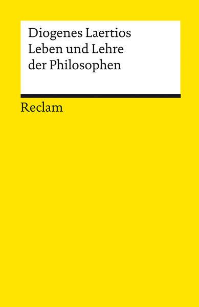 Leben und Lehre der Philosophen als Taschenbuch