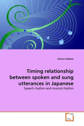 Timing relationship between spoken and sung utt...