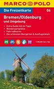 MARCO POLO Freizeitkarte 06 Bremen / Oldenburg und Umgebung 1 : 100 000