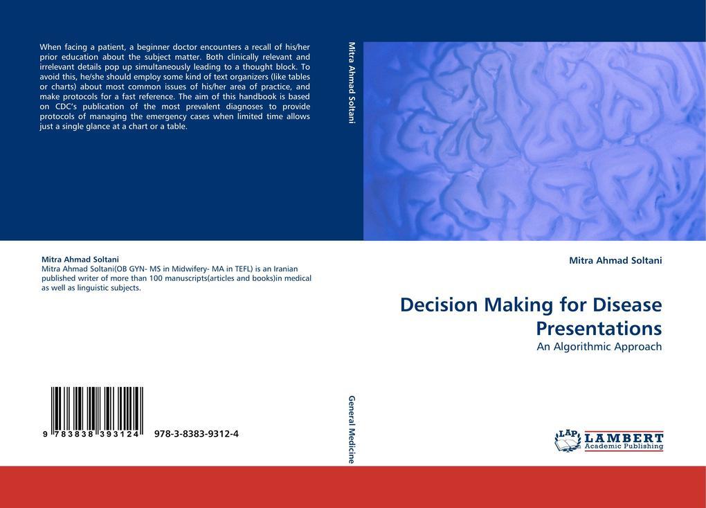 Decision Making for Disease Presentations als B...