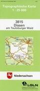 Dissen am Teutoburger Wald 1 : 25 000. (TK 3815/N)